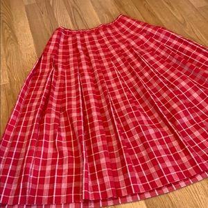 Vintage Pendleton Country Sophisticates Silk Skirt